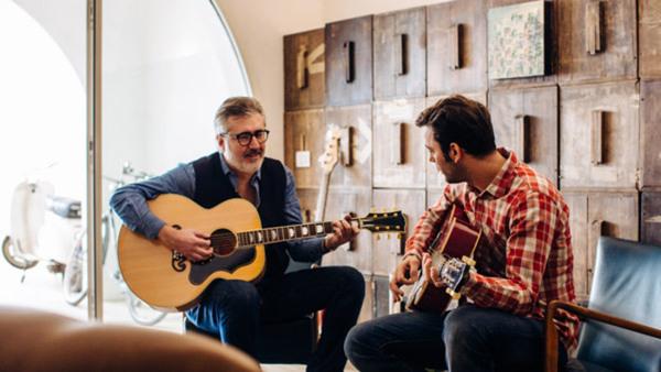 Akustisk gitarr - tvågrupp