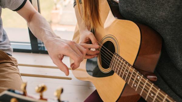 Akustisk gitarr för nybörjare - gruppundervisning