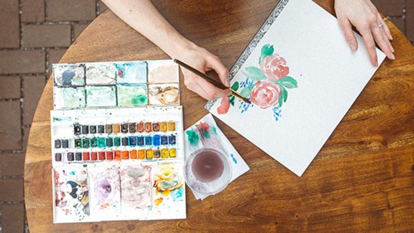 Akvarell för nybörjare